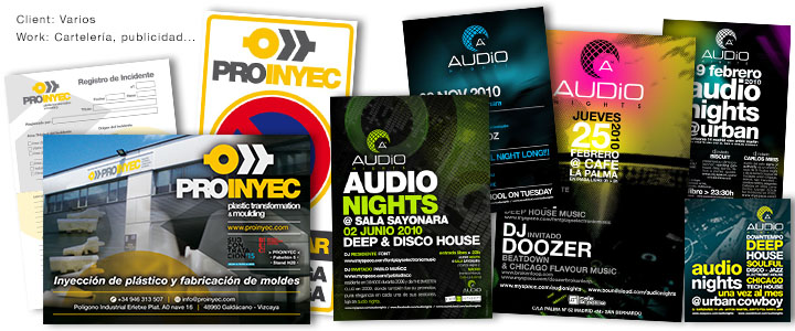 Audio Nights | Proinyec