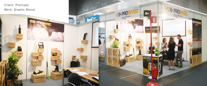 Proinyec Bilbao Exhibition Centre Stand